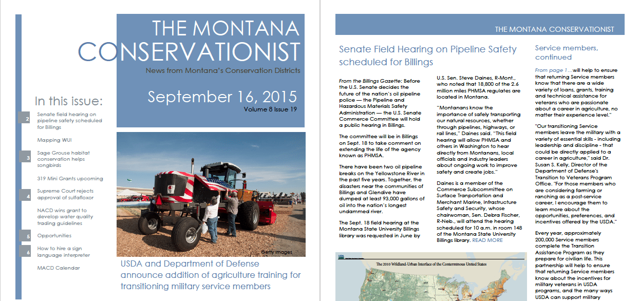 The Montana Conservationist, September 16