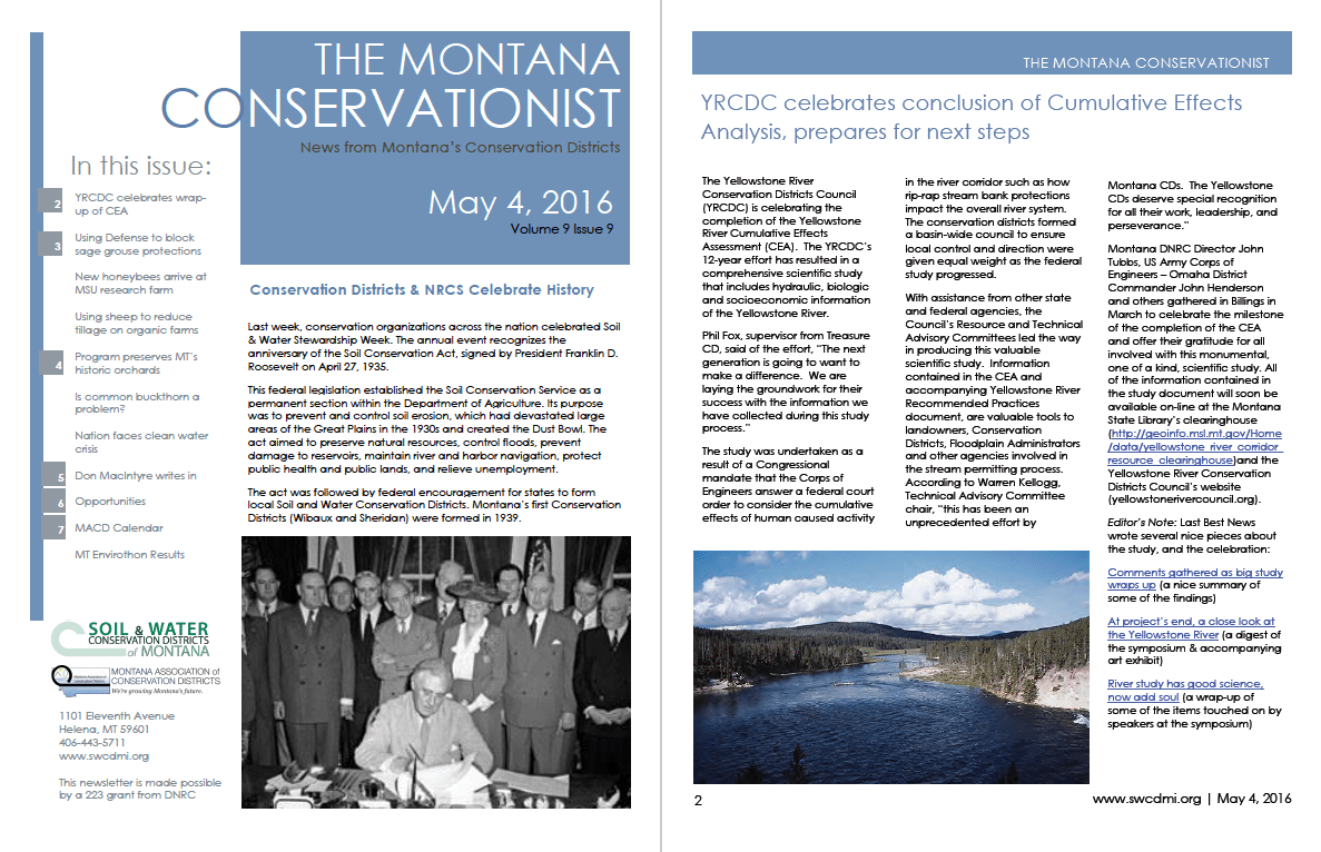 The Montana Conservationist, May 4