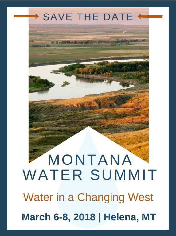 Montana Water Summit @ Helena, MT