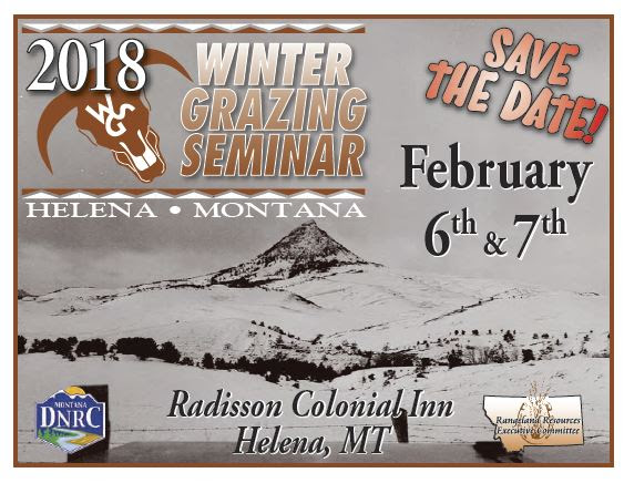 2018 Winter Grazing Seminar @ Radisson Colonial Inn, Helena | Helena | Montana | United States