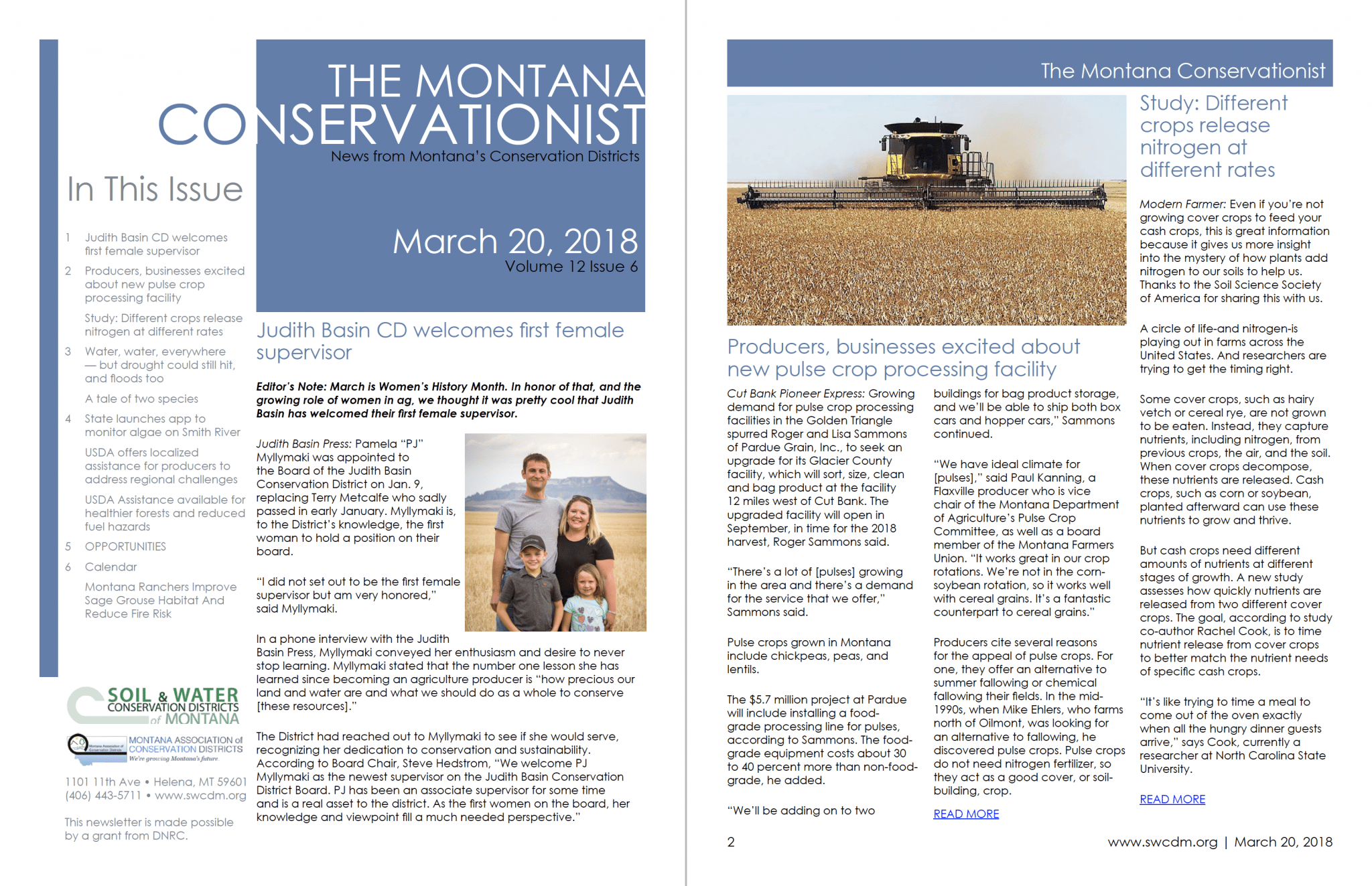 The Montana Conservationist, March 20