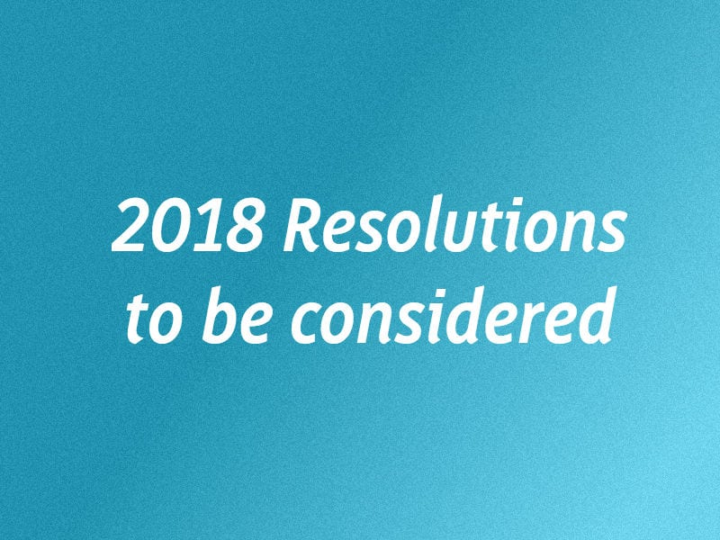 Resolutions To Be Considered At 2018 Convention