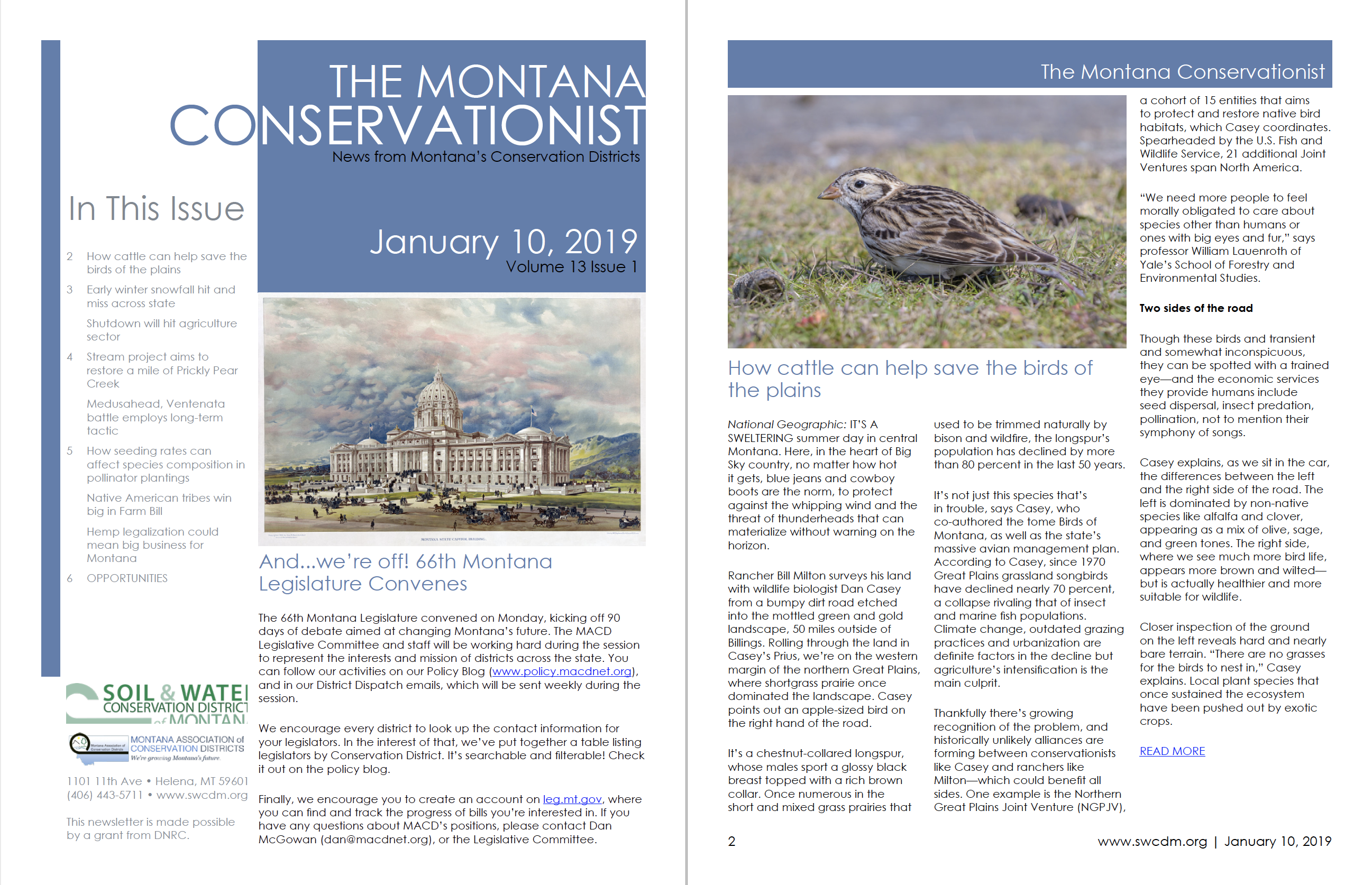 The Montana Conservationist January 10, 2019